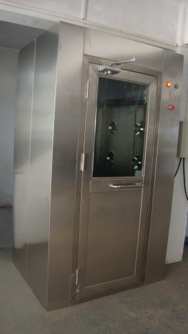 不锈钢风淋室在湖南常德中意食品集团的应用