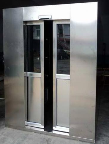 灵洁自动平移门货淋室、不锈钢风淋室为东风汽车有限公司添砖加瓦