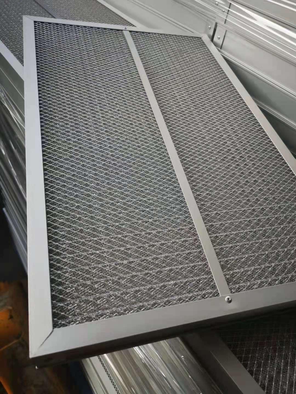 什么叫铝网初效过滤器及金属网过滤器