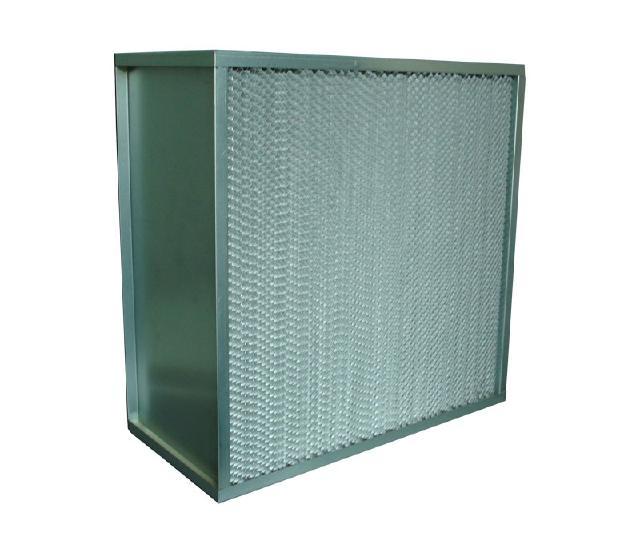 中山有隔板高效过滤器